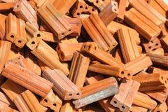 Mattoni rossi per costruzione Fotografia Stock