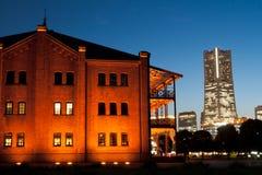 Mattoni rossi Yokohama Immagini Stock Libere da Diritti