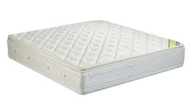 Mattress isolated on white background royalty free stock photos