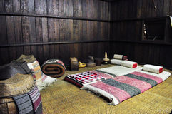 Mattress of ancient Lanna people, Thailand Stock Image