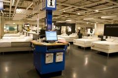 Mattress furniture store Royalty Free Stock Image