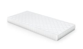 Mattress isolated on white Royalty Free Stock Photography