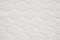 Mattress pattern. White mattress pattern as background Royalty Free Stock Photography