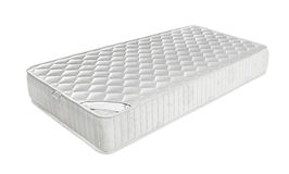 Mattress that supported you to sleep well all night isolated Stock Images