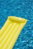 Mattress in Swimming Pool Stock Image
