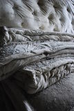 Mattresses in abandoned hospital Royalty Free Stock Photography