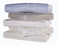 Mattresses Stacked Stock Images