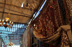 Mattstall i Iran sängkläder Royaltyfri Foto
