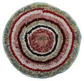 Mattt handgjort för traditionell ryssrundarät maska. royaltyfri bild