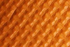 Mattt orange skum Arkivbilder