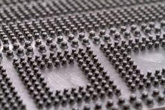 Mattt rubber golv för Closeup Royaltyfri Bild