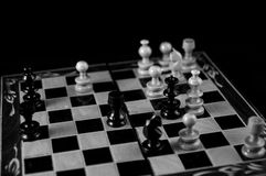Mattt schack arkivbild
