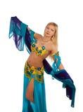 Matude dancer in studio Royalty Free Stock Images