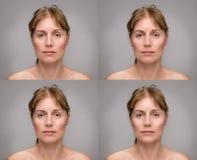 Matue woman beauty portrait Stock Image