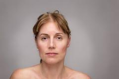 Matue woman beauty portrait Stock Photo