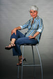 matur atrakcyjna kobieta Obraz Royalty Free