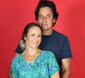 Mature поженилось пары в влюбленности Стоковые Фотографии RF