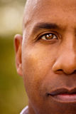 Mature African American man looking serious. Mature African American man looking into the camera Stock Photography
