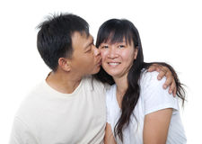 Mature Asian couple Stock Photos