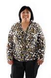 Mature asian lady Stock Photo