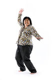 Mature asian lady Stock Image