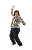 Mature asian lady Stock Image