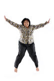 Mature asian lady Royalty Free Stock Photo