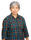 Mature asian woman Royalty Free Stock Image