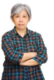 Mature asian woman Stock Photography