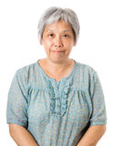 Mature asian woman Royalty Free Stock Images