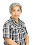 Mature asian woman smile Royalty Free Stock Photo