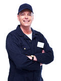 Mature auto mechanic. Stock Photo
