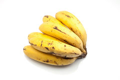 Mature bananas Stock Image