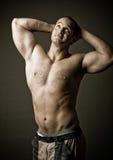 Mature bodybuilder Royalty Free Stock Photo