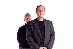 Mature business couple Stock Image