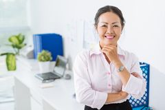 Mature business lady Stock Image