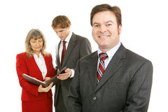 Mature Business Leader Royalty Free Stock Photography