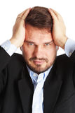 Mature business man Royalty Free Stock Photography