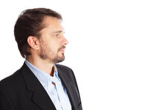 Mature business man Royalty Free Stock Photos