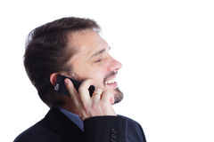 Mature business man Royalty Free Stock Images