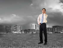 Mature business man Stock Images