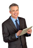 Mature business man Stock Images