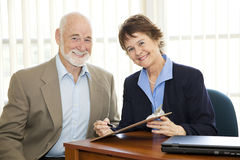 Mature Business People Royalty Free Stock Photos