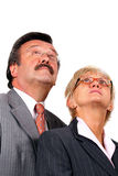 Mature business team Royalty Free Stock Photos