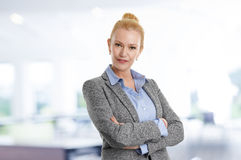 Mature business woman portait Royalty Free Stock Photography