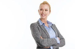Mature business woman Stock Images