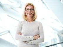Mature business woman portrait Stock Images