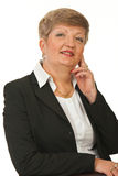 Mature business woman posing Stock Photo