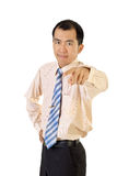Mature businessman Royalty Free Stock Image
