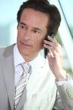Mature businessman Royalty Free Stock Image